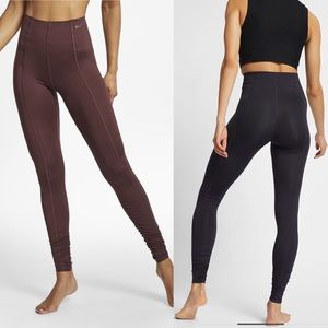 Nike💕Drifit Studio Yoga High Rise Goddess Tights